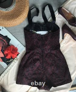 1940s Bathing Suit Robby Len Fashions Dead Stock! Small B32