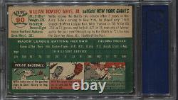 1954 Topps Willie Mays #90 Psa 5 ++ Excellent Dead Centered High-end Vintage Hof
