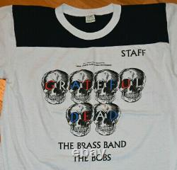 1980's GRATEFUL DEAD vtg rare concert tour tee t-shirt (XL) 1985 Jerry Garcia
