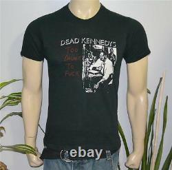 1981 DEAD KENNEDYS vtg punk-rock concert t-shirt (M/L) Rare 70's Jello Biafra