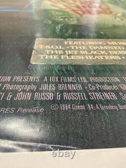 1985 RETURN of the LIVING DEAD original MOVIE POSTER one sheet VINTAGE horror