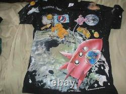 1995 Grateful Dead Standing on the Moon all over print T-shirt L