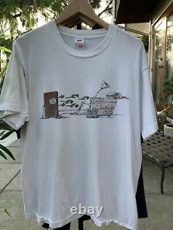 90s Grateful Dead Shirt XL Maxell Stereo Travis Scott Tribal Ink Vtg Promo Live