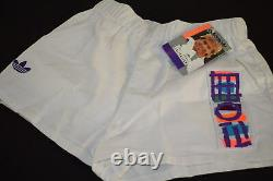 Adidas Shorts Short kurze Hose Stefan Edberg Tennis Vintage Deadstock 176 S NEU