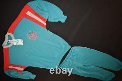 Adidas Training Anzug Jogging Track Jump Suit Sport Vintage Deadstock 80er 3 NEU