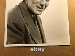 Billy Halop Rare Early Vintage Original Photo With Tag'41 Dead End Kids #1