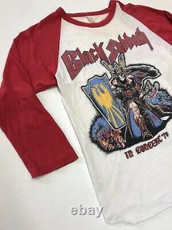 Black Sabbath Vintage Tour 78 Tee Shirt Bloody Ozzy Dead Stock Size M