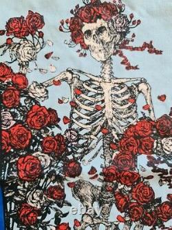 Camiseta Grateful Dead Skull & Roses Kelley Mouse original vintage t shirt