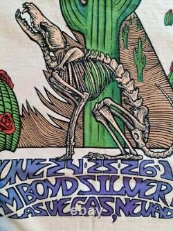 Camiseta Grateful Dead Vegas Dead 1994 original vintage t shirt