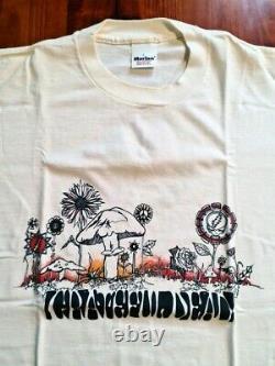 Camiseta Grateful Dead mushrooms 1990 original vintage t shirt