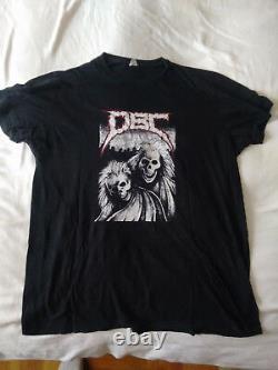 DBC Dead Brain Cells T-shirt vintage Metal Thrash Corossover D. B. C. Original XL