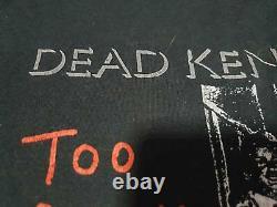 DEAD KENNEDYS vintage concert tour rare original punk T shirt 80s Jello Biafra
