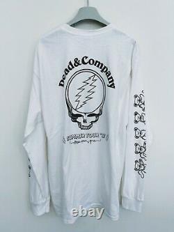 Dead & Company L/S shirt RARE Summer Tour 2017 Grateful Dead John Mayer
