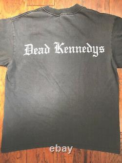 Dead Kennedys Original DK Vintage Worn Used Punk Hardcore T Shirt Aged Cotton