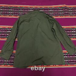 Dead Stock Never Used Vintage U. S Army Vietnam Tropical Jacket 1968 M/s