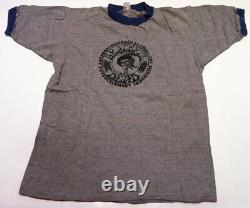 GRATEFUL DEAD D. C. & Baltimore 1972 Vintage Original Concert Tour Crew T-Shirt