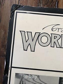 GRATEFUL DEAD VINTAGE ROCK PROMO POSTER Workingmans Dead LP WB#1869 MEMORYLEN