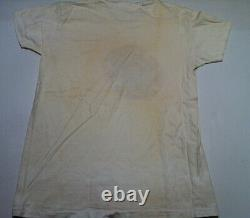 GRATEFUL DEAD Vintage Original 1972 / 1973 Concert Tour Crew  T-Shirt