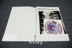 GRATEFUL DEAD original vintage press kit folder Pressefoto PROG PSYCH ROCK 1970