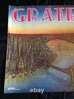 Grateful Dead 1981 DEAD SET Vintage Poster Arista San Francisco CA Warfield NYC