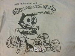 Grateful Dead 1988 Laguna Seca Monterey 1 Stich Shirt XL Vg Rare Spots Htf Vtg