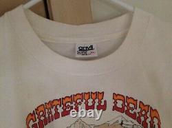 Grateful Dead 1991 GDM Summer Tour DENVER Broncos Not Fade Away Vintage Shirt
