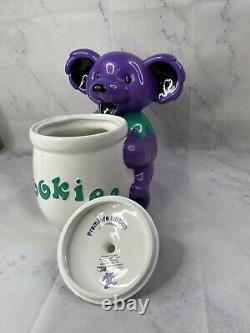 Grateful Dead Dancing Bear Cookie Jar Premiere Edition Limited Vandor Vintage