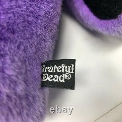 Grateful Dead Dancing Bear Purple Plush Golf Head Cover Winning Edge 12 VTG