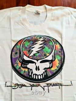 Grateful Dead Digital Dead Steal Your Fractal tour 1994 original vintage t shirt