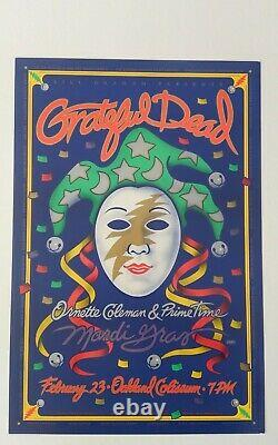 Grateful Dead Mardi Gras 1993 Vintage Poster