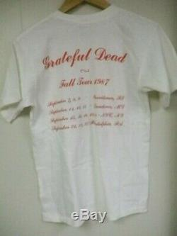 Grateful Dead Shirt T Shirt Vintage 1987 Fall Tour USA Uncle Sam! Medium