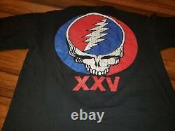 Grateful Dead Shirt T Shirt Vintage 1990 Wall Of Sound Jerry Garcia 1974 GDM L