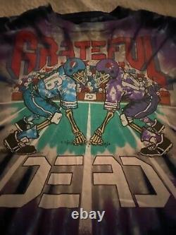 Grateful Dead Shirt T Shirt Vintage 1991 New York Giants Stadium NFL Football XL