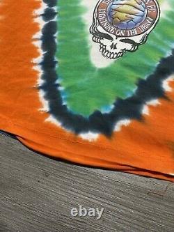 Grateful Dead Shirt T Shirt Vintage 1997 Soccer Ball Football Bear Tie Dye XL