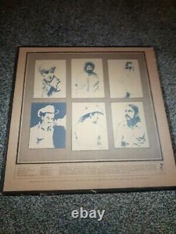 Grateful Dead Signed Autograph Album Jerry Garcia Bob Weir Mickey Hart vintage
