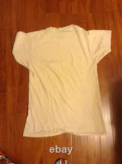 Grateful Dead T-shirt vintage RARE Rock concert T-shirt 80s Jerry Garcia