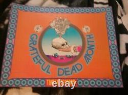 Grateful Dead Tower Records 1970s Poster Vg Pinholes F Carson Rare Creases Vtg