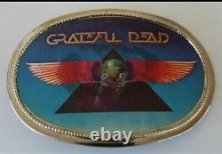 Grateful Dead Vintage Belt Buckle 1978 Stanley Mouse Egypt Poster Art
