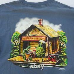 Grateful Dead Vintage T Shirt Terrapin Station Mouse Kelley Size XL 1990's