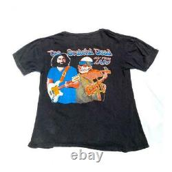 Grateful Dead the Dead Live in Concert 1980 Original T-shirt from Japan