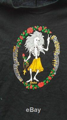 Jerry Garcia Rosebud Doug Irwin Real Vintage T Shirt Grateful Dead Rare