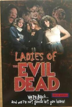Ladies Of The Evil Dead Vintage Poster 2004 24 X 36