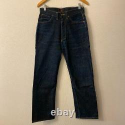 Lee 101Z Original Denim Pants Color Indigo 40s Vintage Men's Bottom Dead Stock