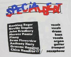 M vtg THE BEAT screen stars t shirt SKA english beat SPECIALS 20.76