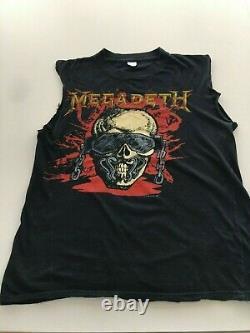 Megadeth Wake Up Dead Tour 1987 Original T Shirt Medium Rare vintage
