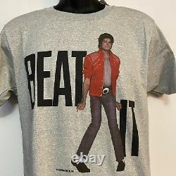 Michael Jackson Vintage Thriller Beat It 1984 Official Licensed T-Shirt Large