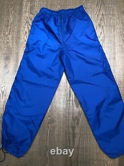 NEU Original Vintage Nike Air Trainingsanzug Nylon Tracksuit Gr. M Deadstock