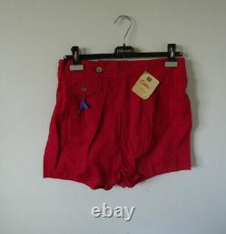 NOS mens 50s vtg swimsuit ZIP FIT 34 beefcake USA dead stock CATALINA HOLLYWOOD