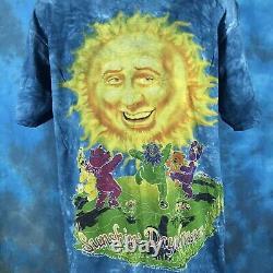 NOS vintage 90s GRATEFUL DEAD SUNSHINE DAYDREAM T-Shirt XL rock concert tour