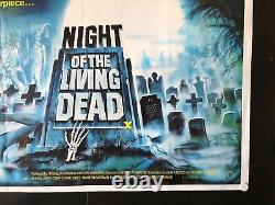 Night of the Living Dead (1980) Original/Vintage Movie Poster on 40 x 30 -NM
